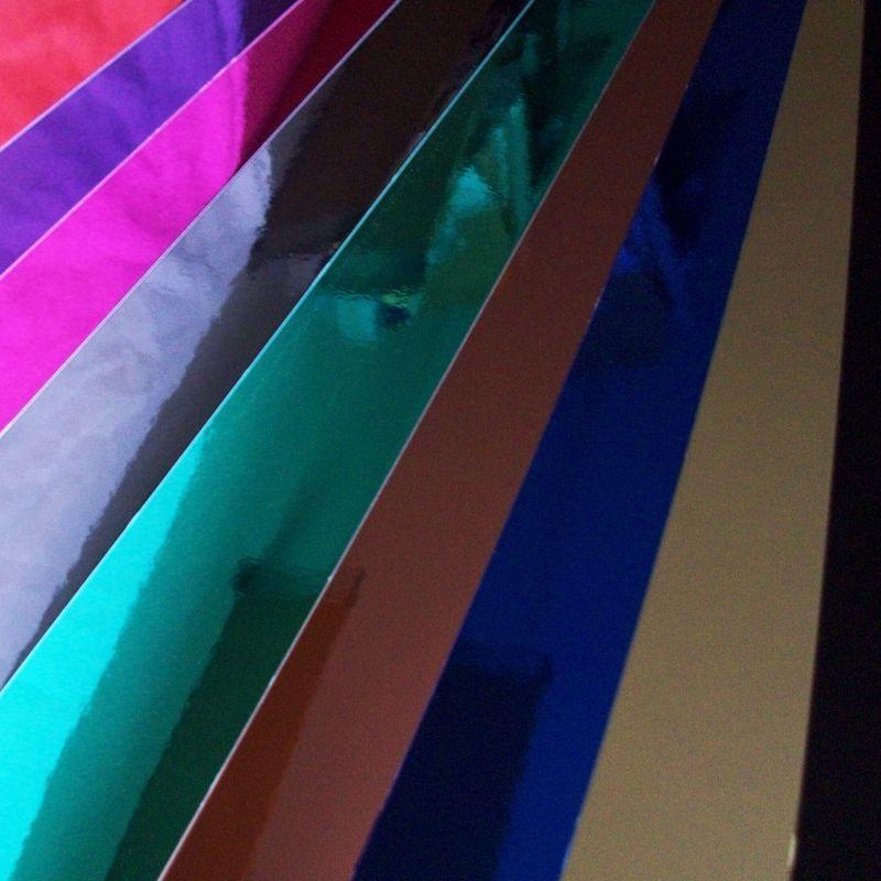 Cartulina metalizada efecto espejo - Pintaunas efecto espejo ...