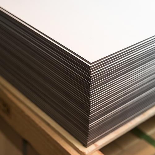 Composite sandwich de aluminio blanco blanco 300 for Panel sandwich aluminio blanco