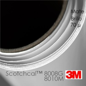 3M™ Scotchcal™ 8008G y 8010M Laminadores Monomericos
