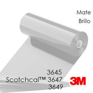 3M Scotchcal 3645, 3647 y 3649 Laminadores para publicidad sobre suelos