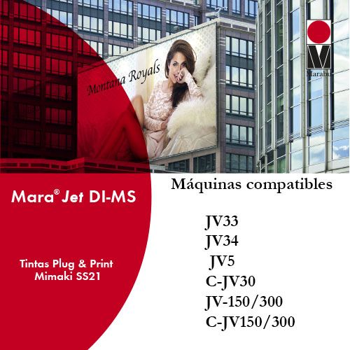 Tinta marabu compatible con mimaki SS1