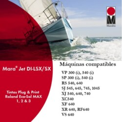 Tinta Marabu Mara Jet DI-LSX/SX para Roland